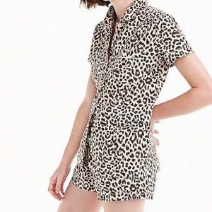 J. Crew Leopard Pajama Set